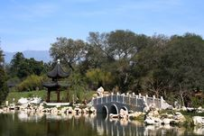 Asian Garden Stock Photography