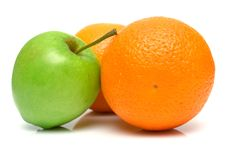 Free Oranges And Apple Stock Images - 4904594