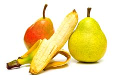 Free Pears And Banana Royalty Free Stock Images - 4904619