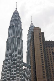 Free Petronas Towers Royalty Free Stock Photo - 4904735