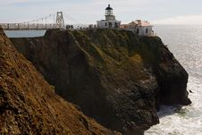 Point Bonita Lighthouse Royalty Free Stock Images