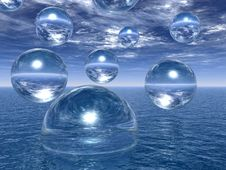 Free Water Balls Stock Photography - 4905082