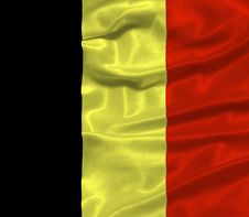Free Belgium Flag 3 Royalty Free Stock Photo - 4905355