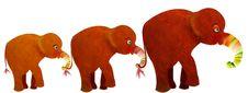 Free Elephant Family Stock Photo - 4906040
