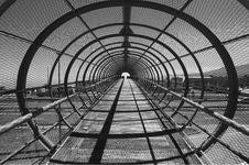 Free Footbridge With Arcs Royalty Free Stock Image - 4906166