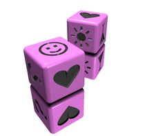Free Pink Dice Royalty Free Stock Photo - 4908165