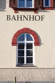 Free Bavarian Railroad Station Stock Images - 4908374