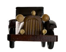 Free Retro Wooden Car Model Royalty Free Stock Image - 4908706