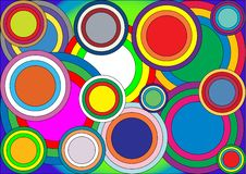 Free Circles Of Different Colors Stock Images - 4908764