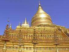 Free Myanmar, Yangon: Shwedagon Pagoda Royalty Free Stock Images - 4909059