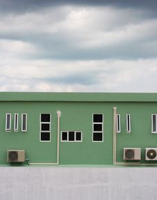 Industrial Building. Stock Photo