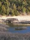 Free Wood And Metal Bridge Stock Images - 4911064