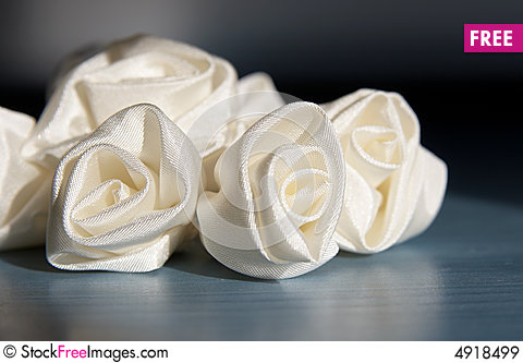 Wedding Accessories Addition Roses From Fabric