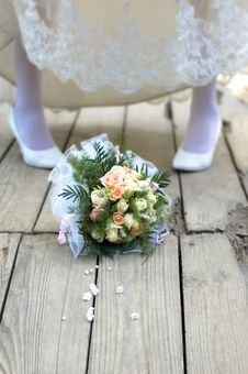 Free Bouquet On The Bridge Royalty Free Stock Photo - 4910005