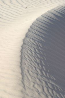 Free Sand Ripples Stock Photography - 4910332