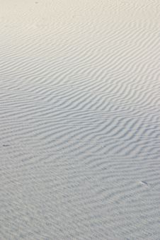 Free Sand Ripples Stock Image - 4910431