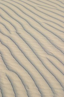 Free Sand Ripples Royalty Free Stock Image - 4910446