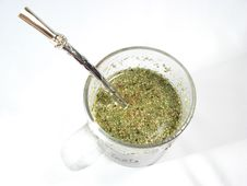 Free Cup With Mate Tea Royalty Free Stock Photos - 4910858