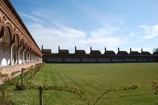 Free The Certosa Di Pavia Or Charterhouse Of Pavia Royalty Free Stock Images - 4910889
