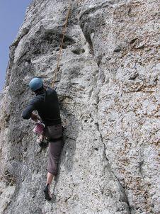 Free Climber Royalty Free Stock Image - 4910956