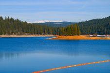 Free Blue Lake Stock Photography - 4910992