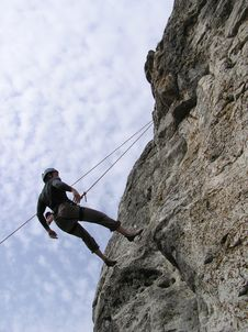 Free Climber Royalty Free Stock Image - 4911106