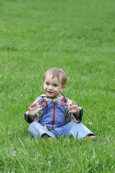 Free Happy Baby Boy Royalty Free Stock Images - 4911239