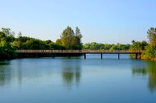 Free Bridge Over The River Stock Photos - 4911373