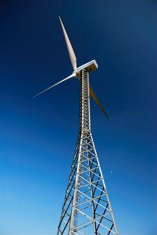 Free Wind Turbine Royalty Free Stock Image - 4911696