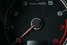 Free Car Tachometer Stock Images - 4911764