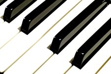 Free Piano Keys Royalty Free Stock Photography - 4911847