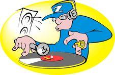 Free DJ Royalty Free Stock Photo - 4912005