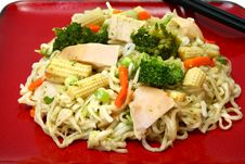 Free Chicken Stirfry Stock Image - 4912451