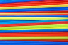 Free Colorful Straws Background 6 Royalty Free Stock Image - 4912536