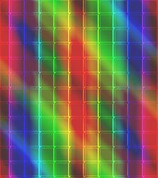 Free Neon Mosaic Tile Background Royalty Free Stock Images - 4913719