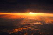 Free Sunset Clouds Royalty Free Stock Photo - 4913765