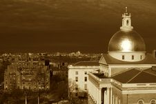 Free Sepia Boston Stock Image - 4914031