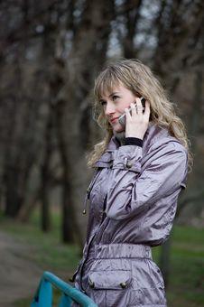 Free Phone Girl Stock Photos - 4914573