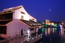 Free Shantang Street At Suzhou Royalty Free Stock Photo - 4914585