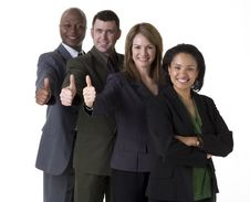 Free Successful Business Team Royalty Free Stock Photos - 4914658