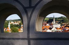 Free View Of The Old City Royalty Free Stock Image - 4914676