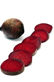 Free Beet Isolated In White Stock Image - 4914801