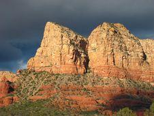 Free Sedona Red Rock Storm 64 Royalty Free Stock Photo - 4914925