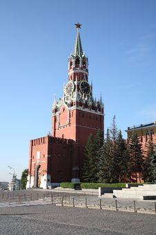 Kremlin Clock Stock Images