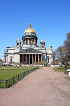 Cathedral Of Saint Isaak In St Petersburg Royalty Free Stock Images