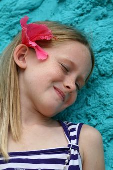 Free Chuffed Kid Royalty Free Stock Image - 4915236