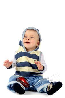 Free Laughing Boy Royalty Free Stock Image - 4915876