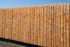 Free Wooden Paling Royalty Free Stock Image - 4917836