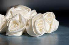 Free Wedding Accessories Addition Roses From Fabric Royalty Free Stock Images - 4918499