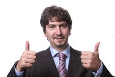 Free Portrait Of A Successful Young Businessman Stock Photography - 4918862